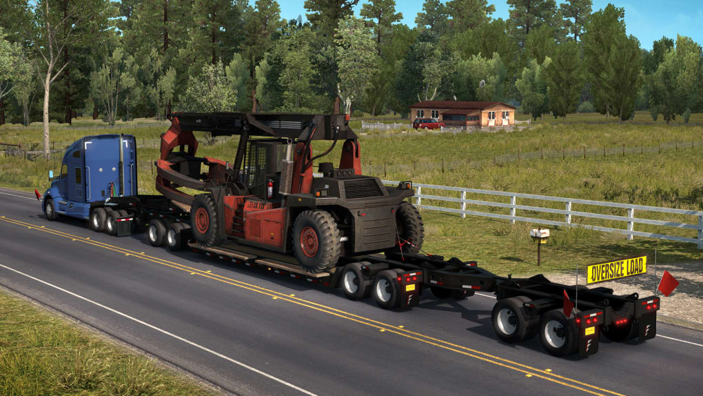 American Truck Simulator - Forest Machinery - Download