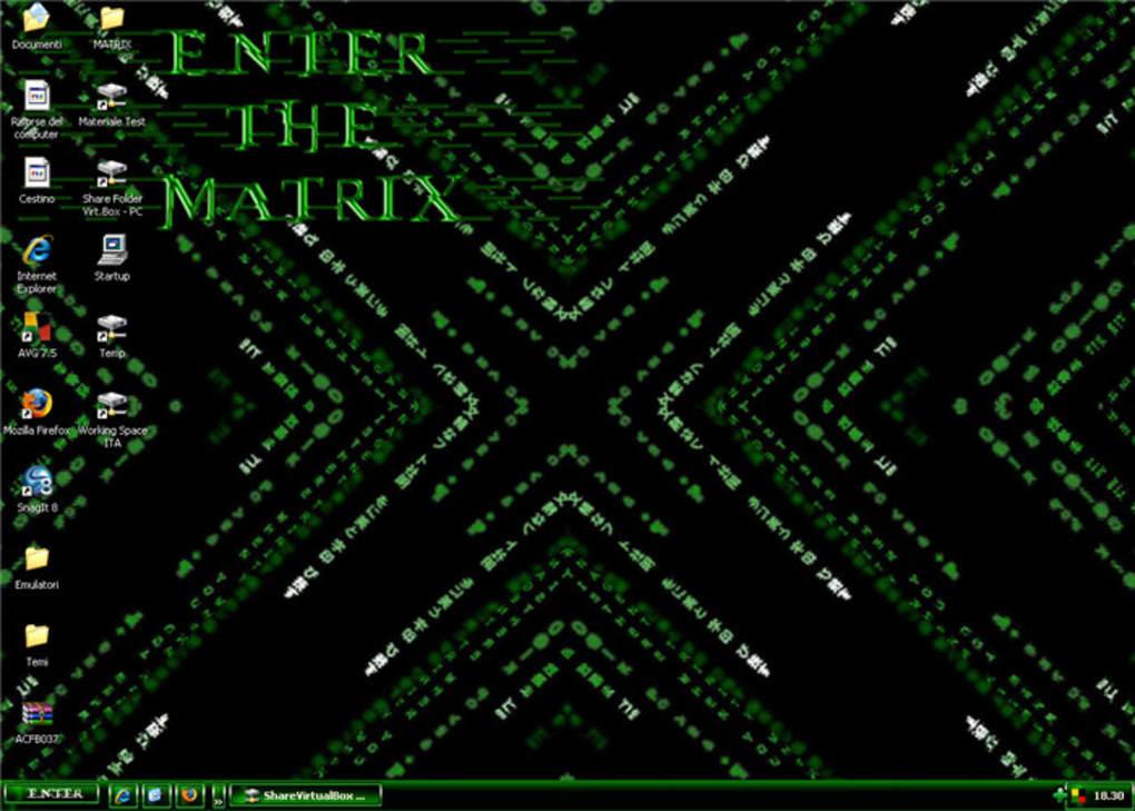 Matrix Theme – Dibujos Para Colorear