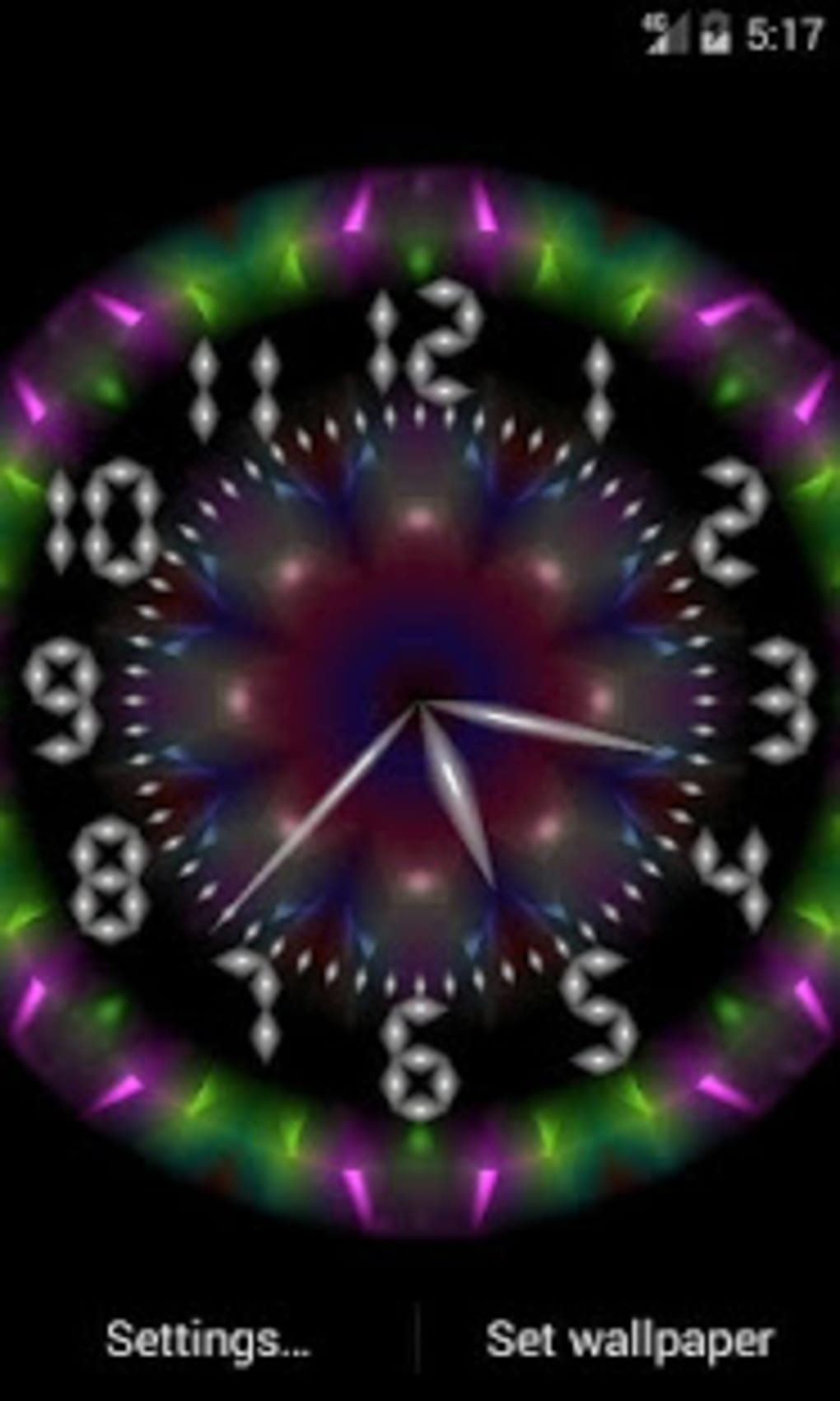 Clock Live Wallpaper APK for Android - Download