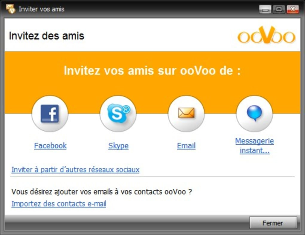 oovoo nouvelle version