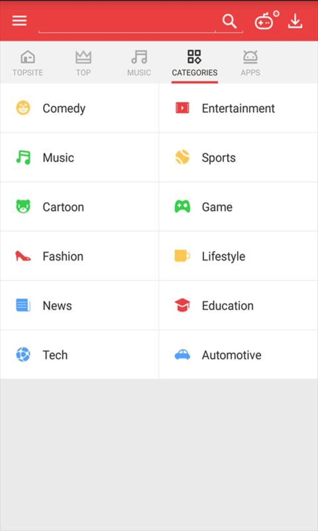 VidMate for Android - Download