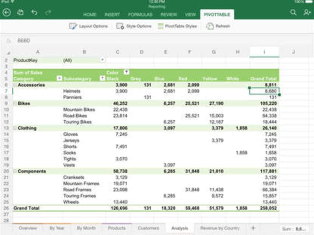 microsoft excel 2007 free download for ipad