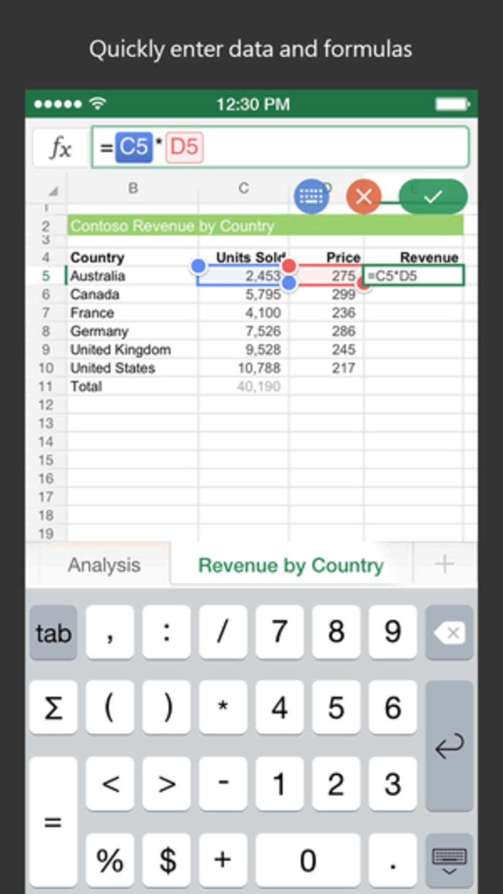 Microsoft Excel for iPhone - Download