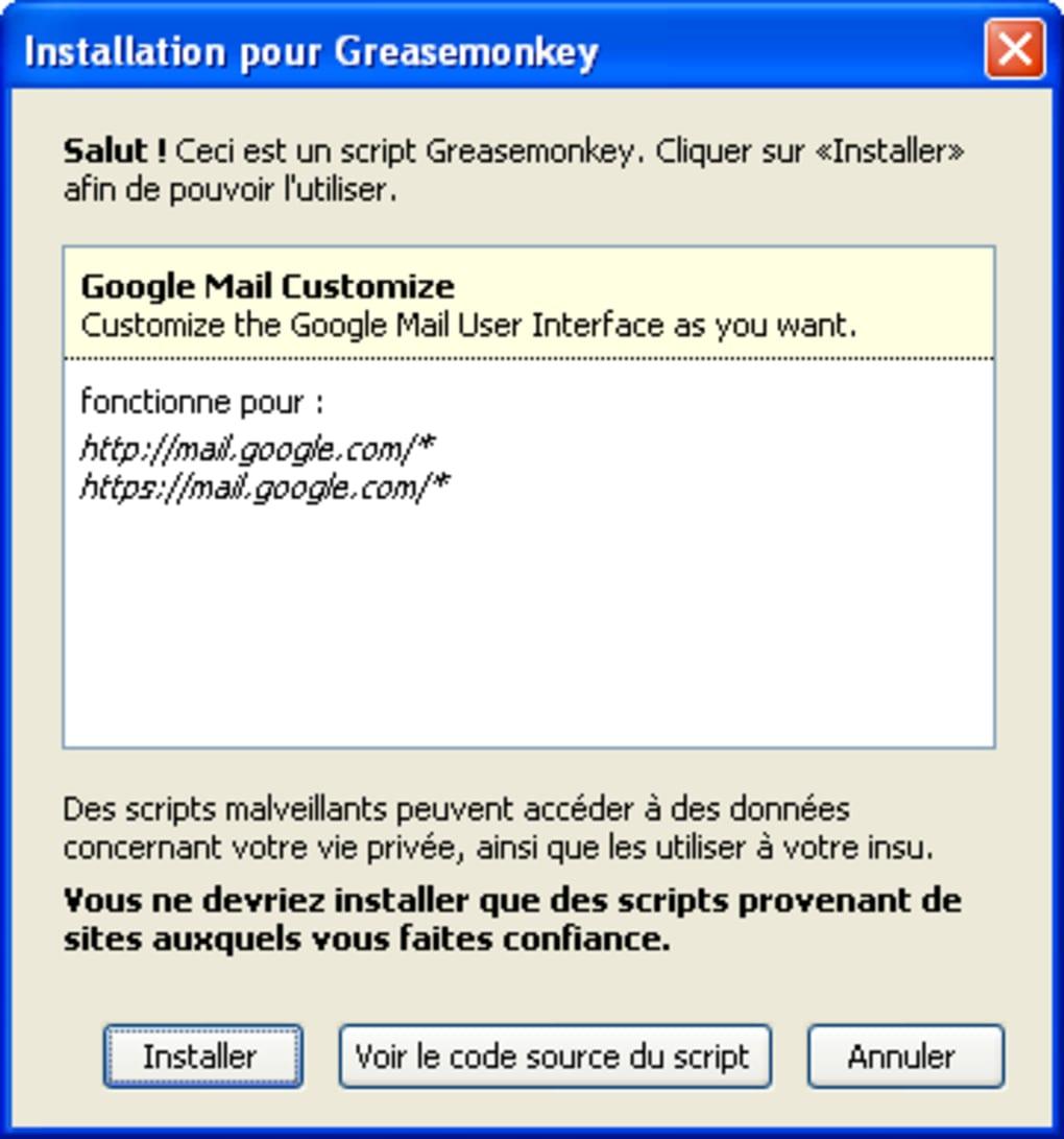 greasemonkey gratuit