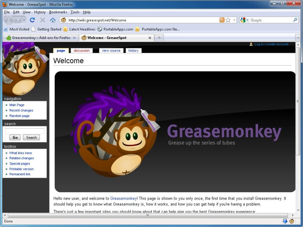GREASEMONKEY POUR MAC