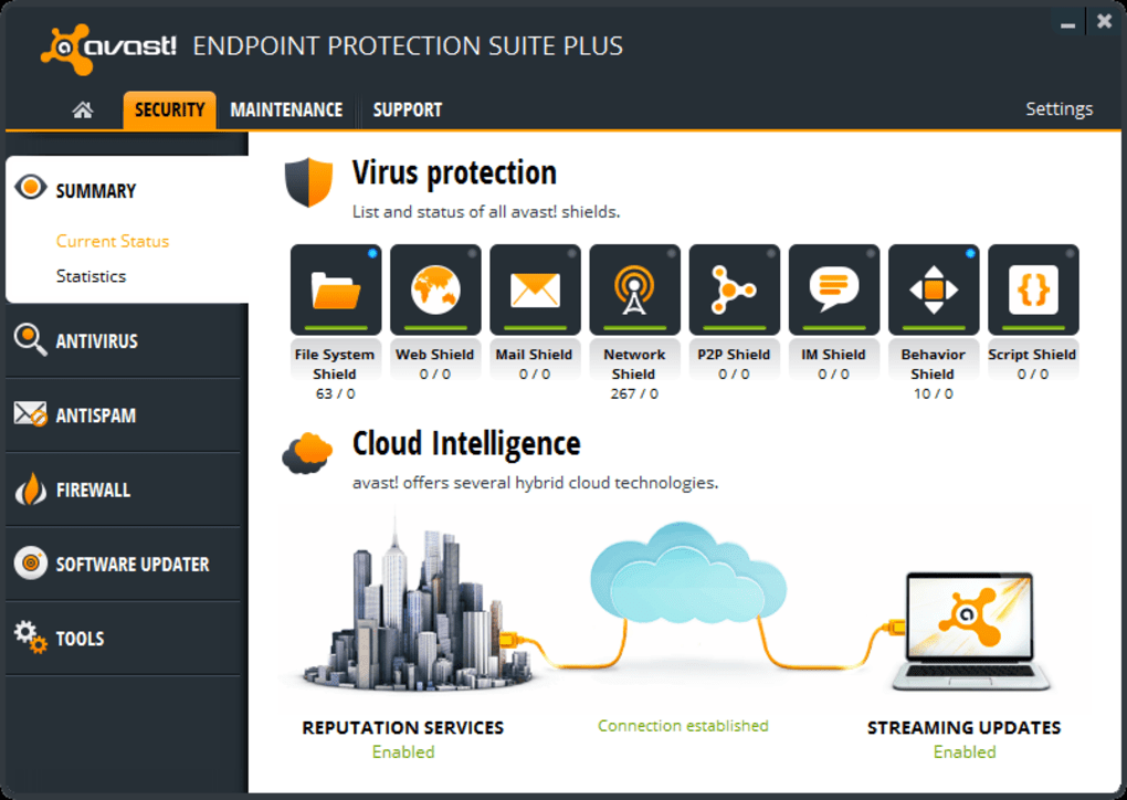 Avast Endpoint Protection Suite Plus Download