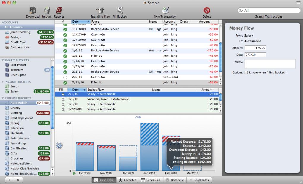 Cash Flow For Mac