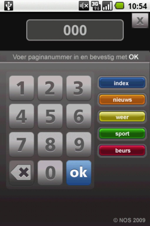 NOS Teletekst voor Android - Download