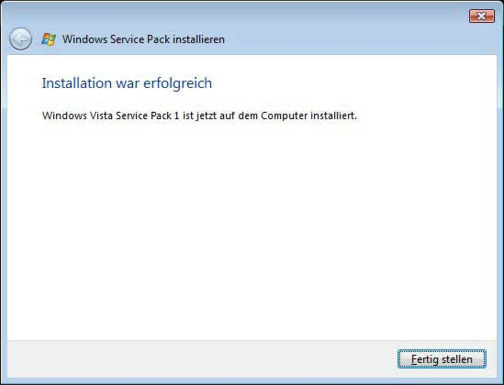 free download of windows vista service pack 1