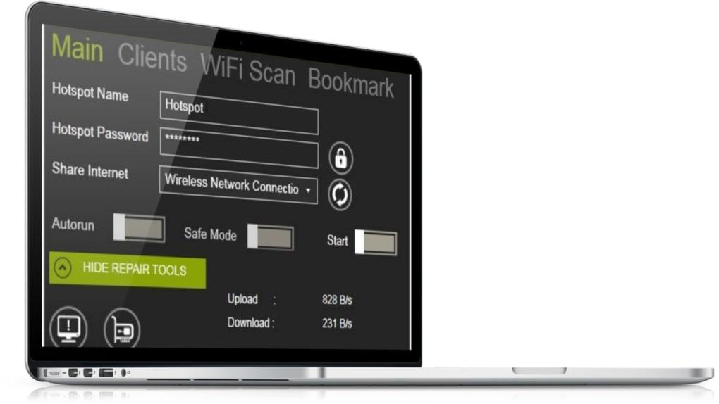 winhotspot Virtual WiFi Router - Download