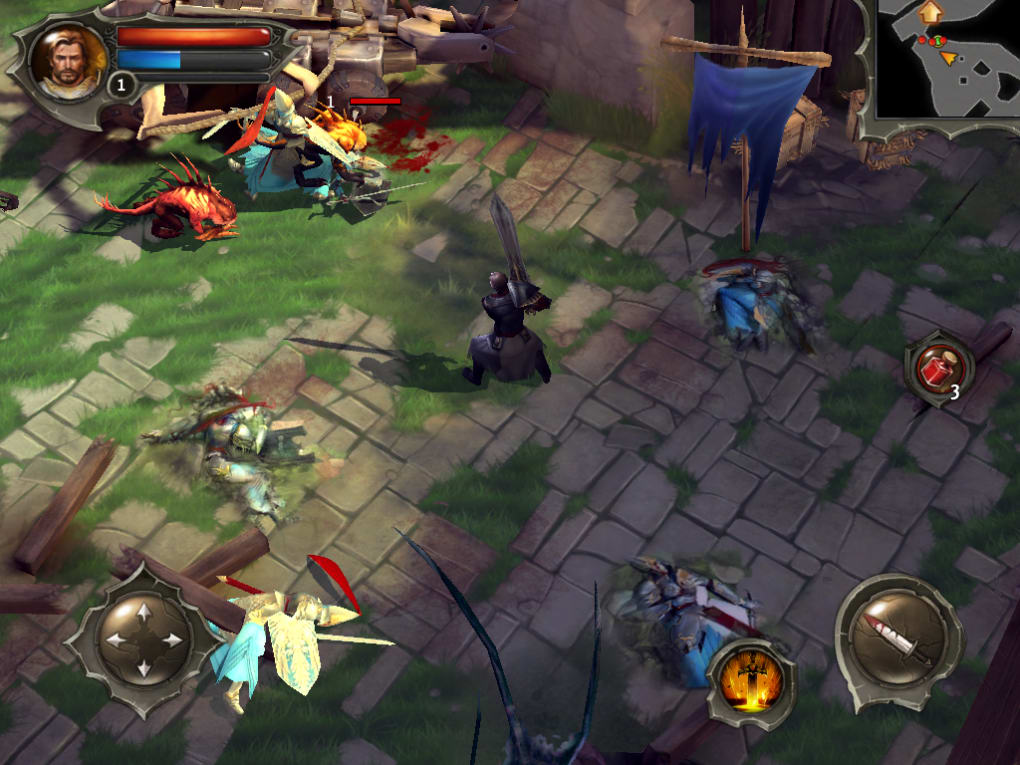 Dungeon Hunter 4 for iPhone - Download
