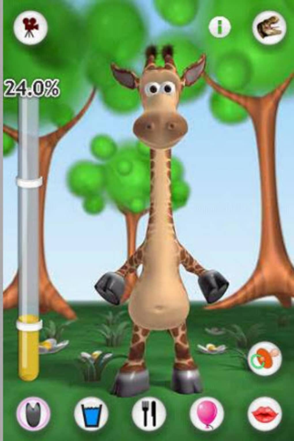 Talking gina the giraffe for android download apk free.