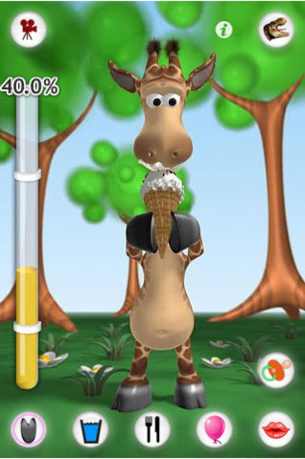 Download talking gina the giraffe 1. 2. 1 (free) for android.