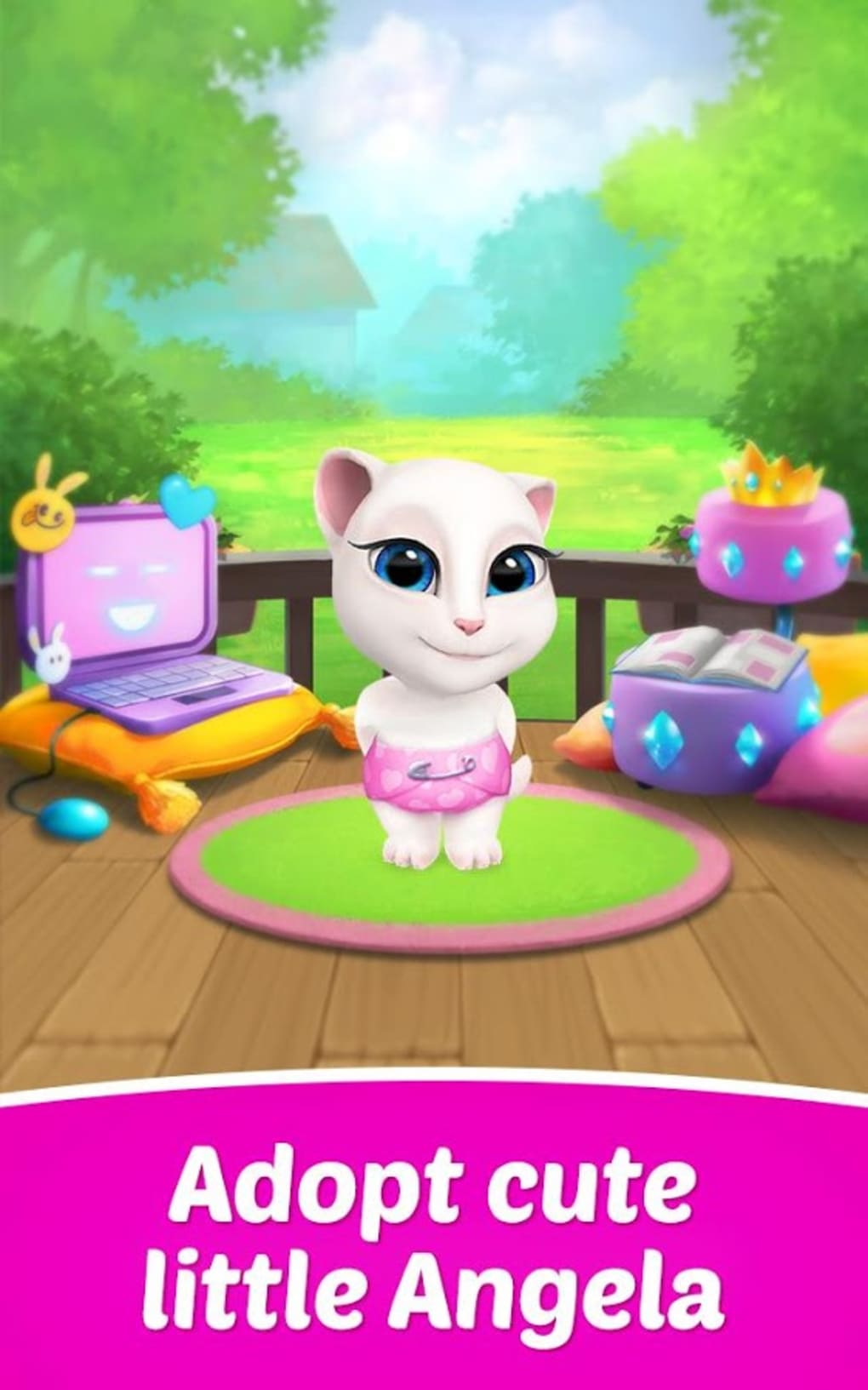 my talking tom mod apk uptodown