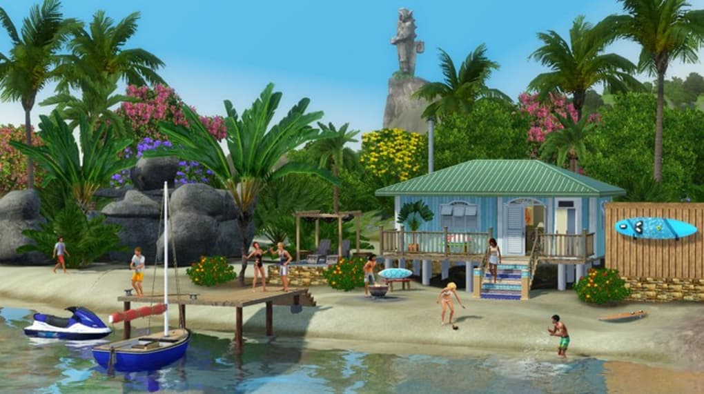 sims 3 island paradise code for installation