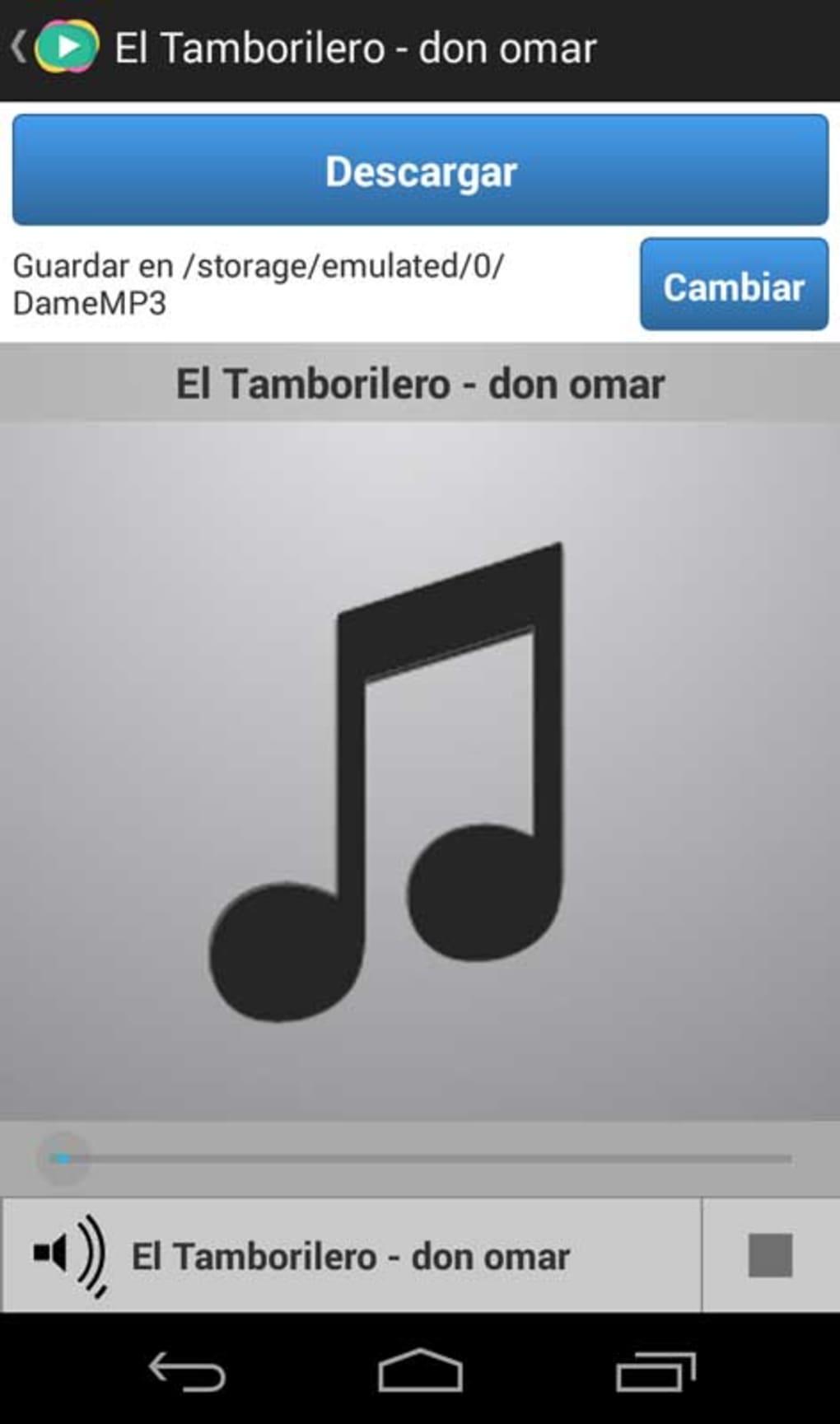 Dame MP3 para Android - Descargar