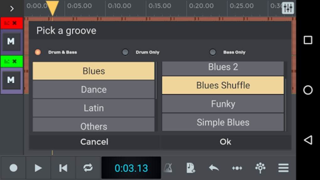 n-Track Studio 8 Music DAW for Android - Download