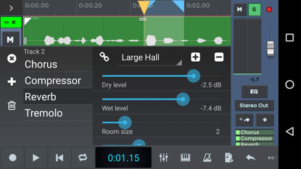 N Track Studio 8 Music Daw Apk Untuk Android Unduh