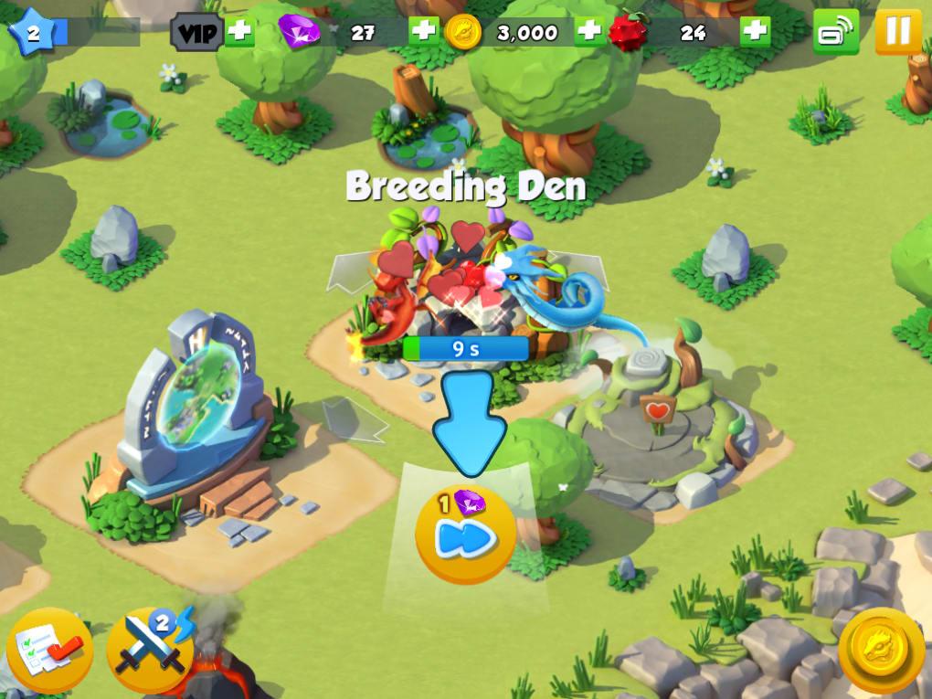 Giochi gratis di dragon mania legends
