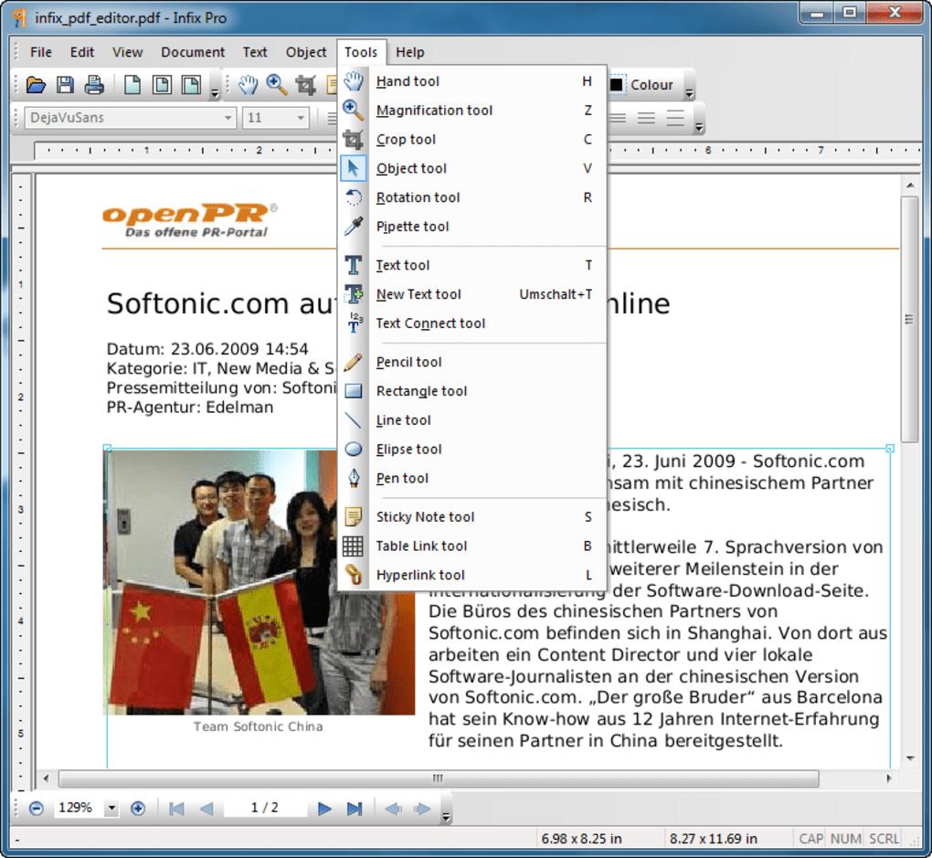 infix pdf editor free download