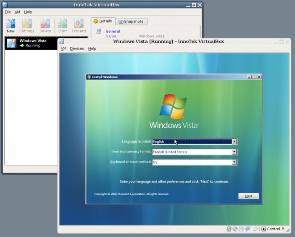 virtualbox for windows 7 64 bit download