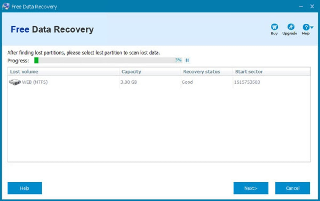 Free Data Recovery - Download