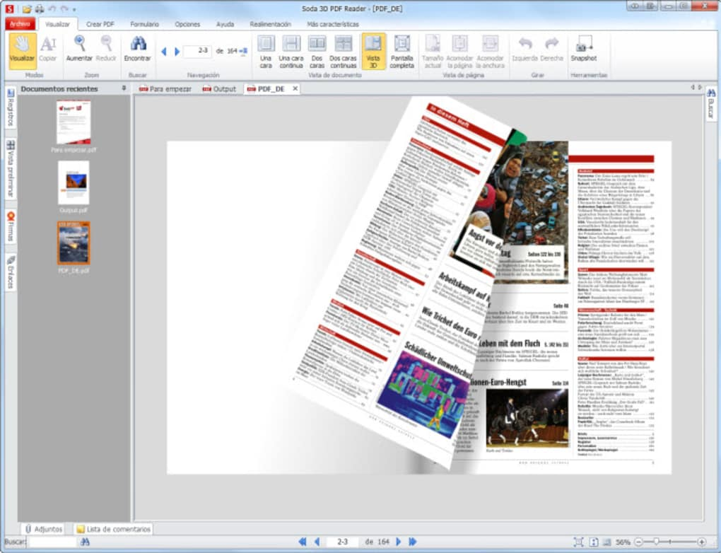 Soda 3d pdf reader download.