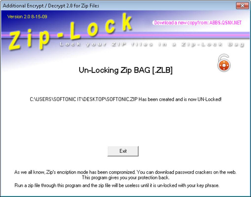 Zip Lock - Download
