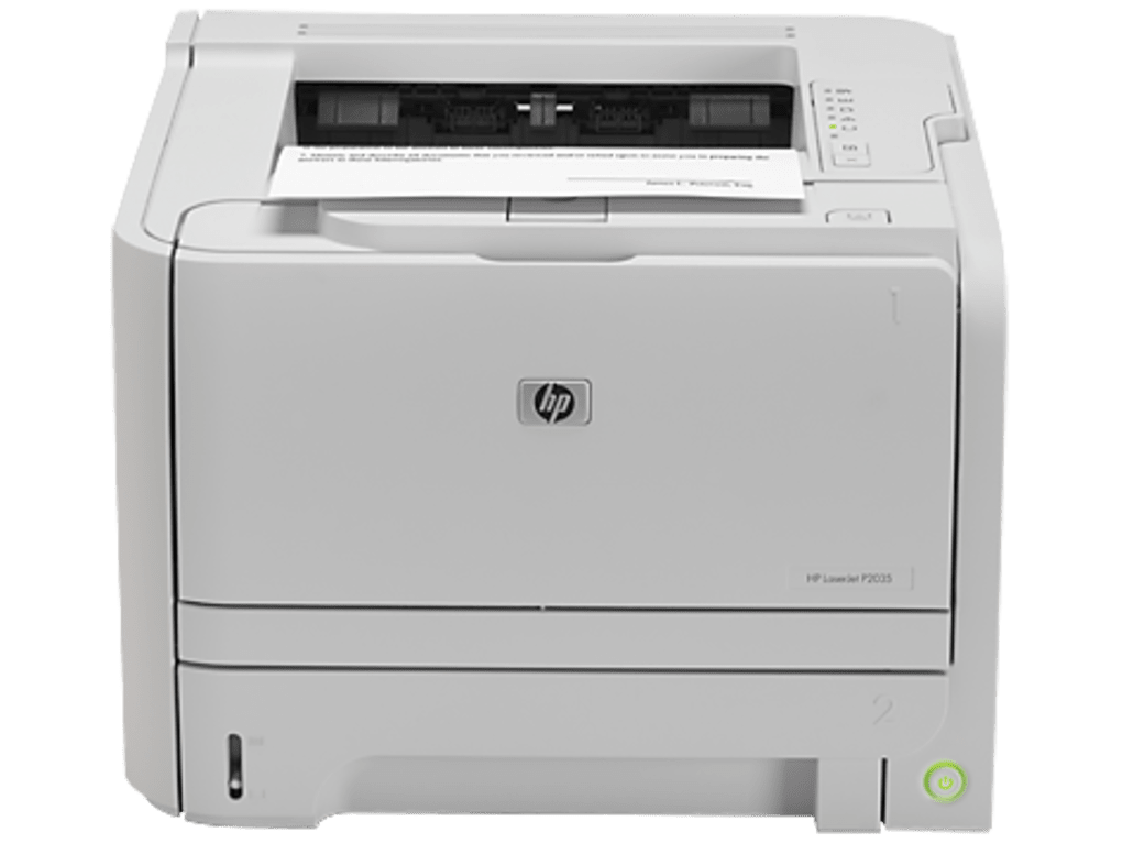 Download HP LaserJet P2035 drivers for Windows 7 x86