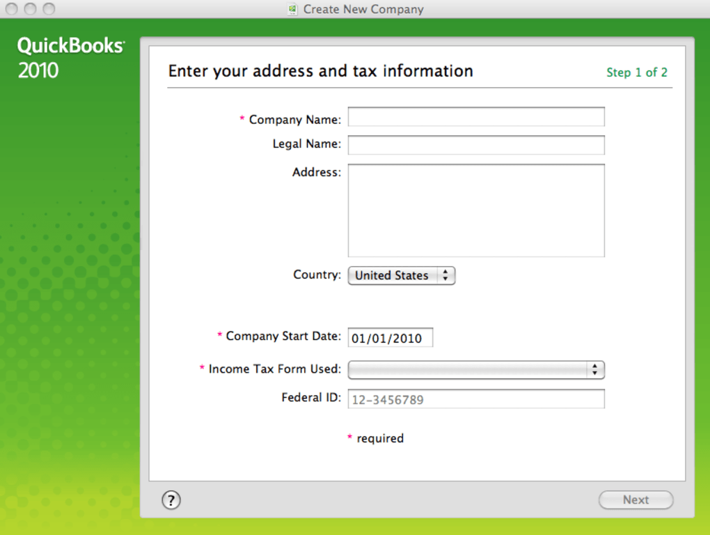 QuickBooks for Mac - Download