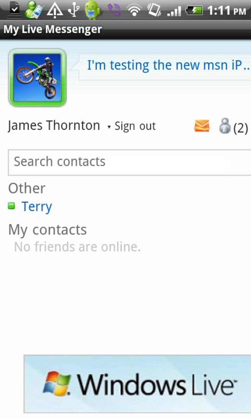 My Live Messenger for Android - Download