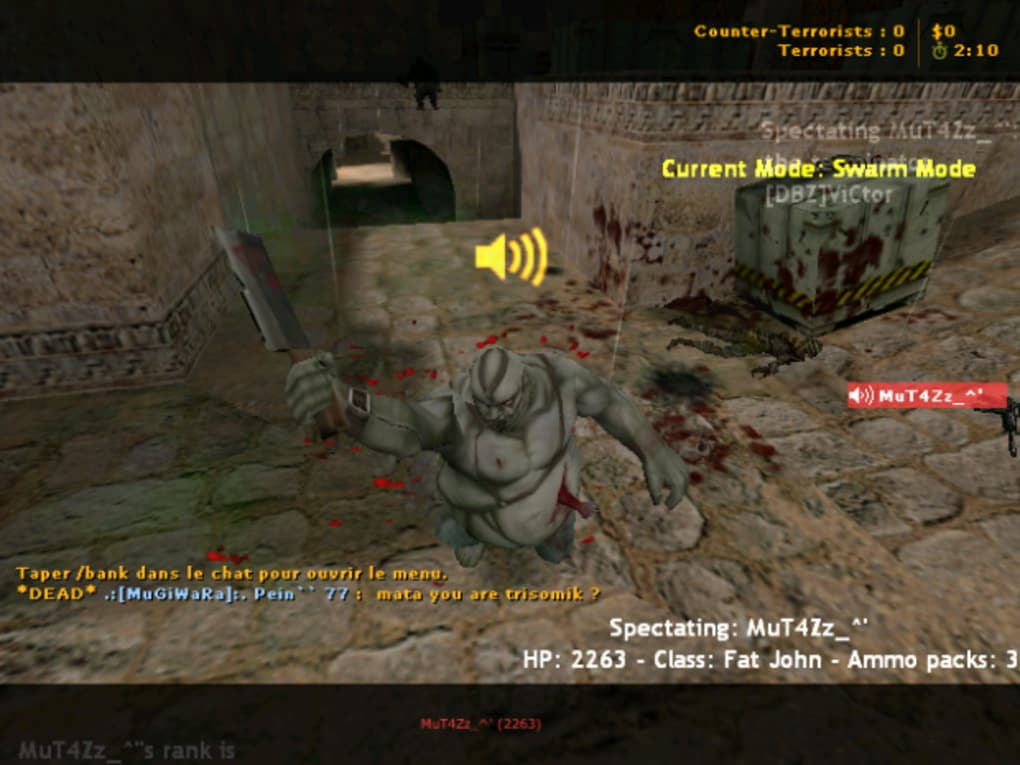 counter strike online zombie mod by tanapone