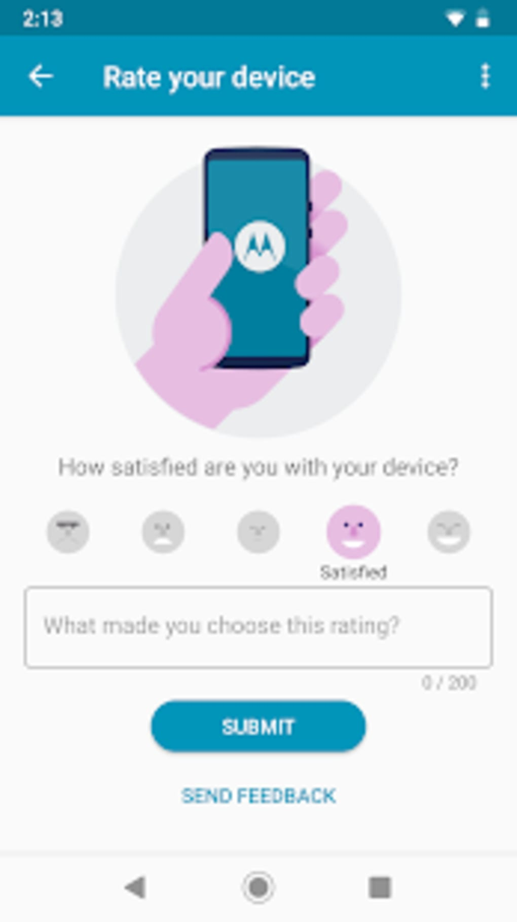 Moto Feedback for Android - Download