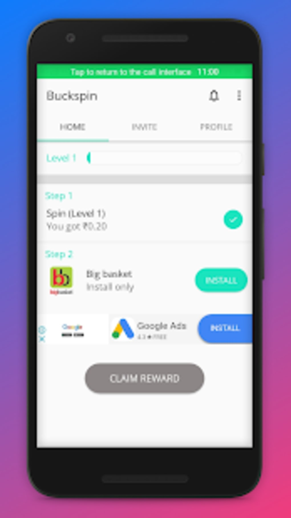 Buckspin for Android - Download