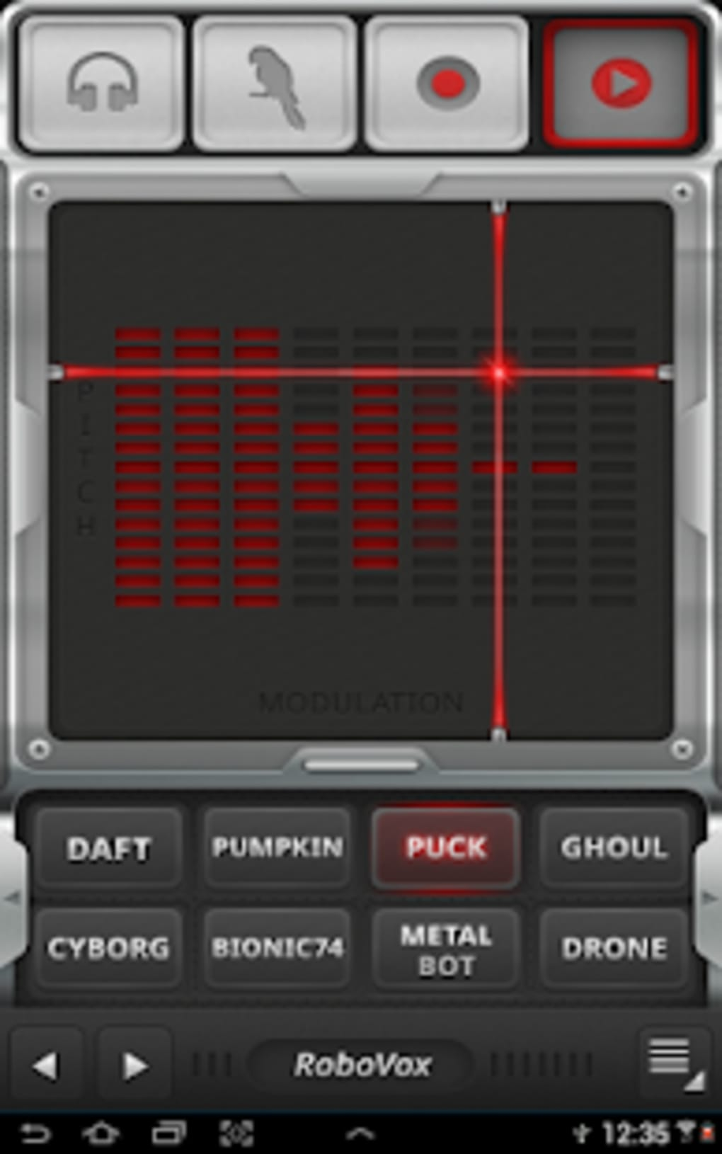 RoboVox Voice Changer for Android - Download