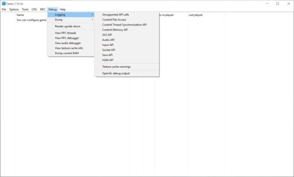 Cemu Wii U emulator - Descargar
