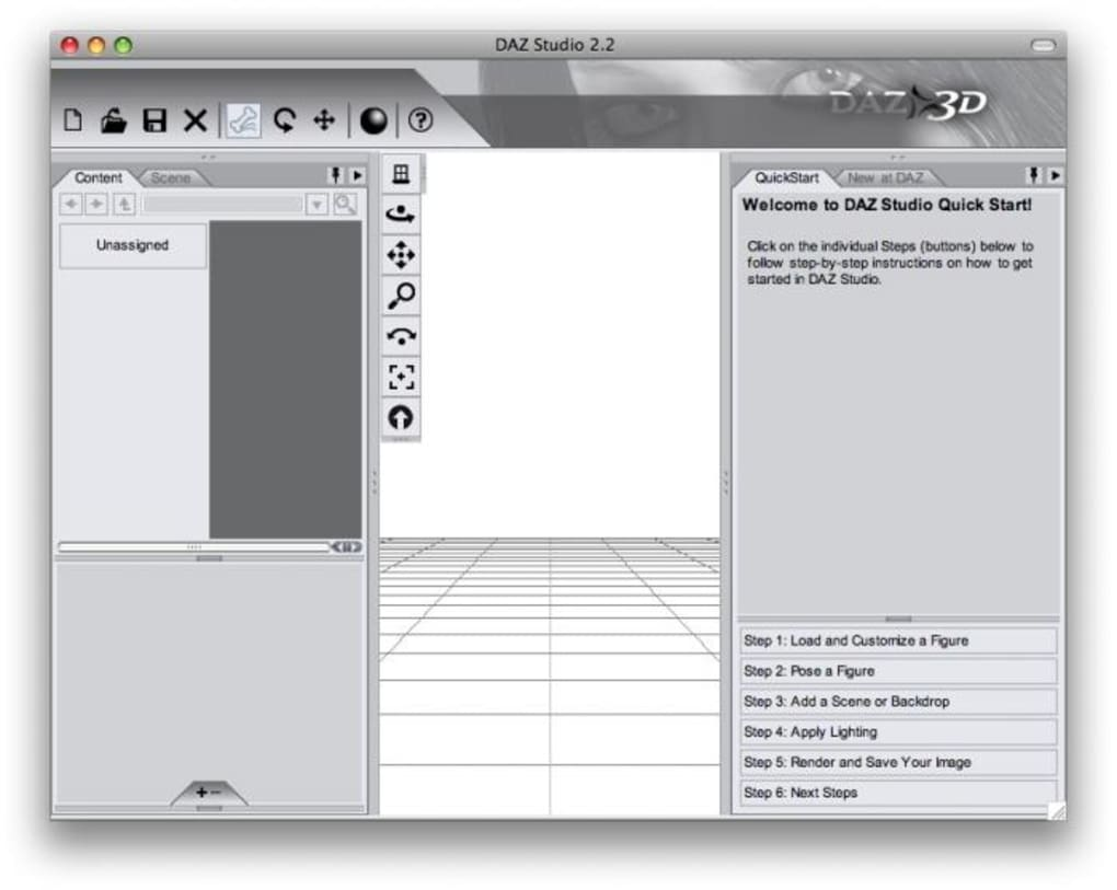 DAZ Studio for Mac - Download