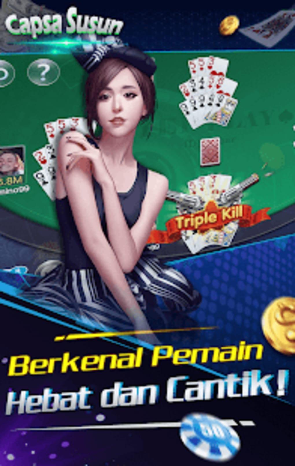 Capsa Susun bonus pulsa free poker remi online untuk