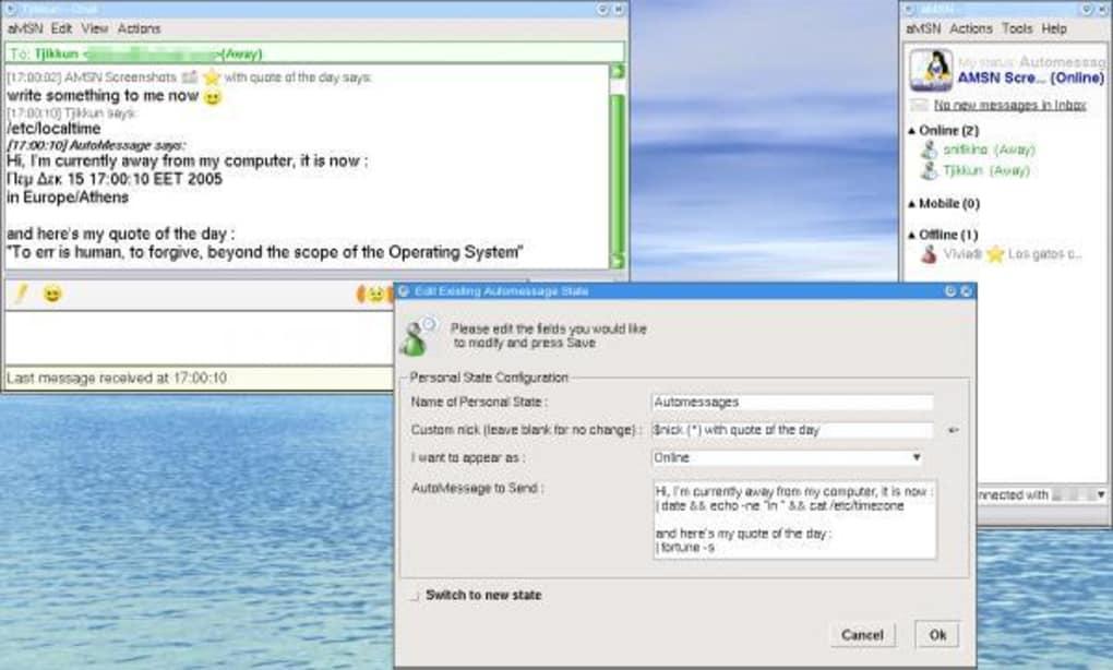 amsn gratuit windows 7