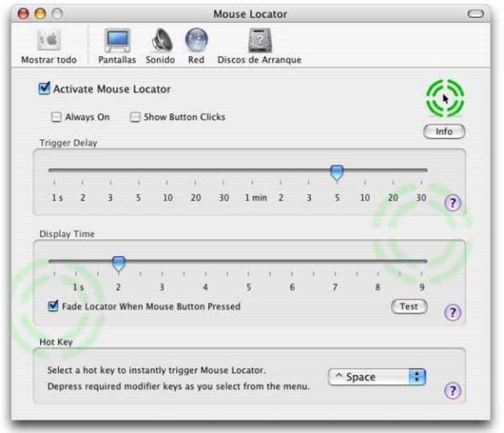 Mouse Locator for Mac - Download