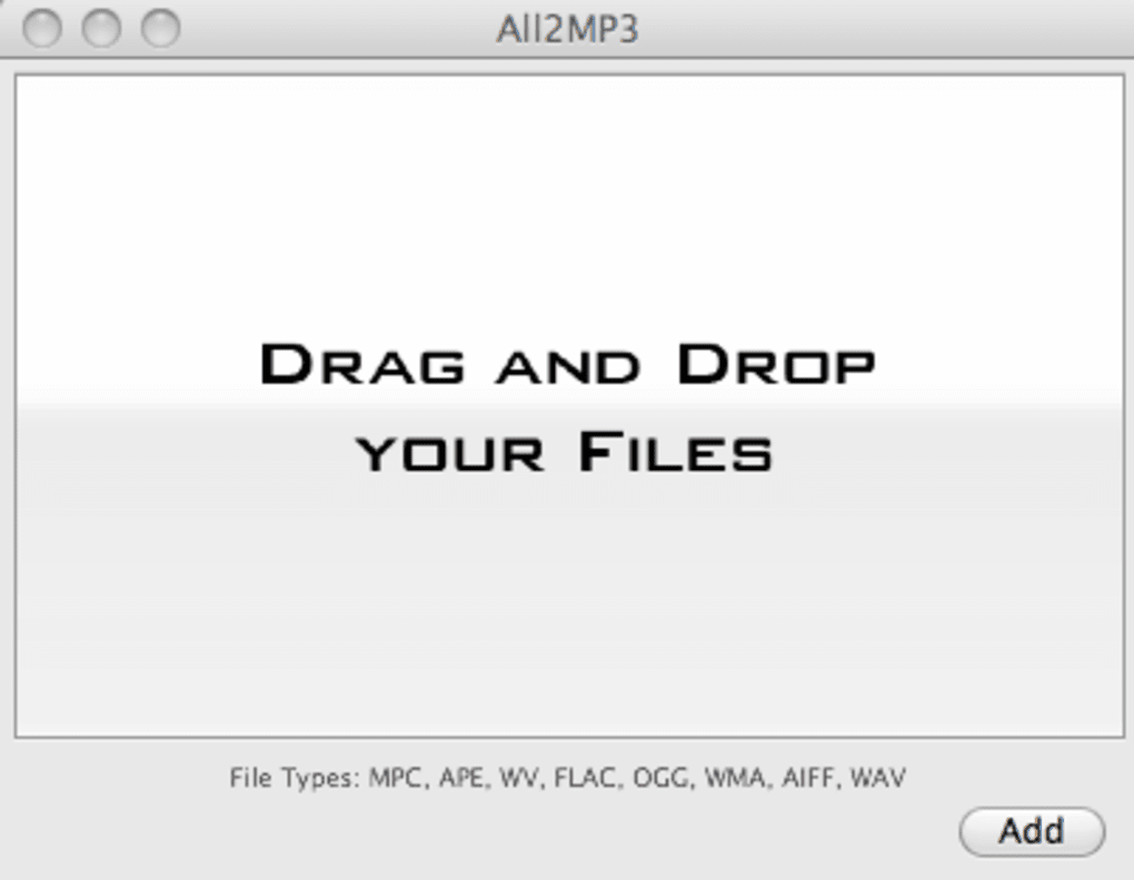 All2MP3 for Mac - Download