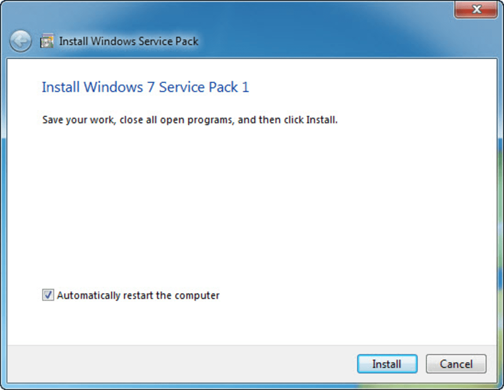 windows 7 service pack 1 download 64 bit iso 2018