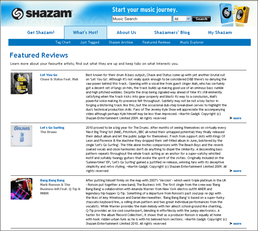 shazam for pc windows 7 free download