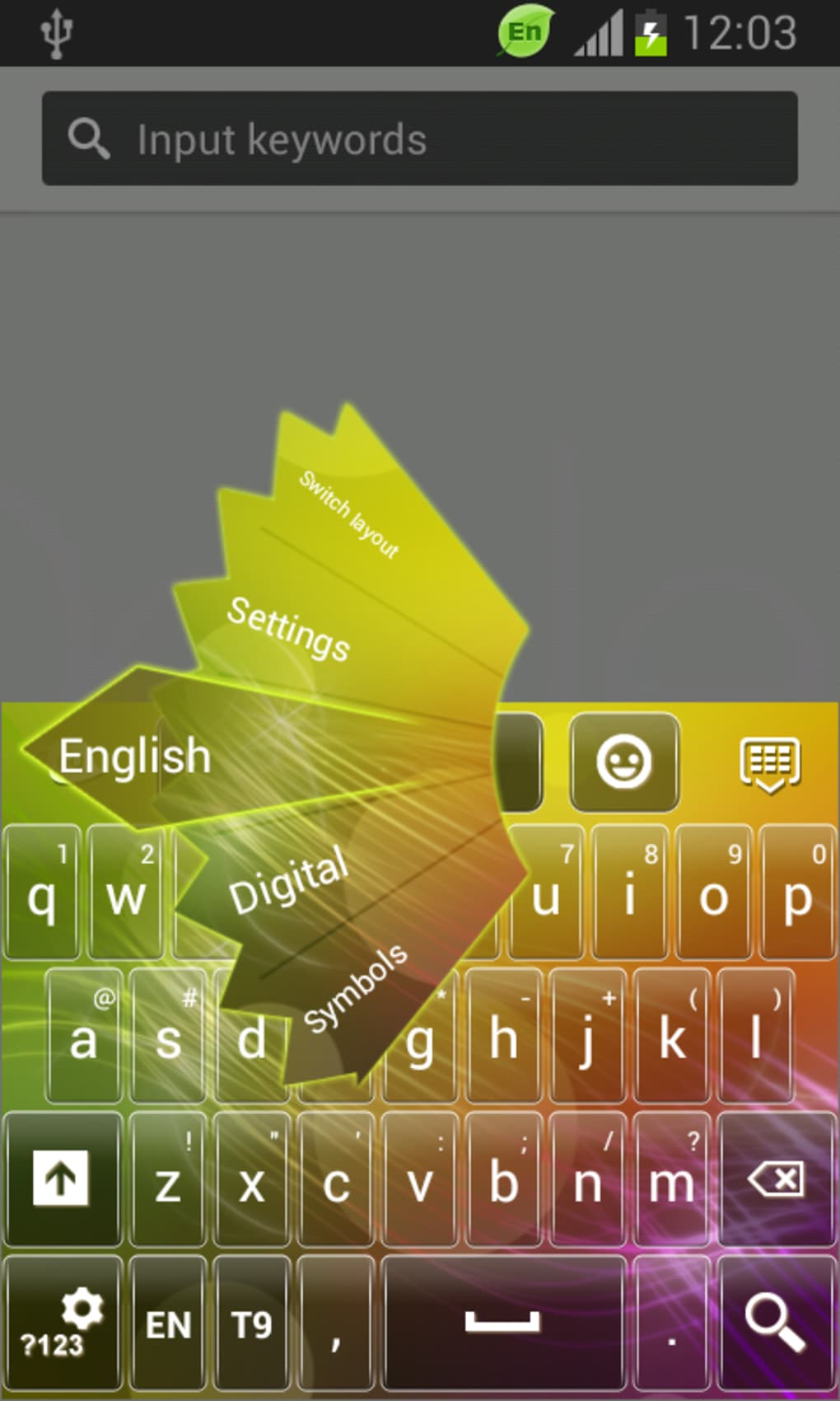 Color Keypad Theme for Samsung for Android - Download