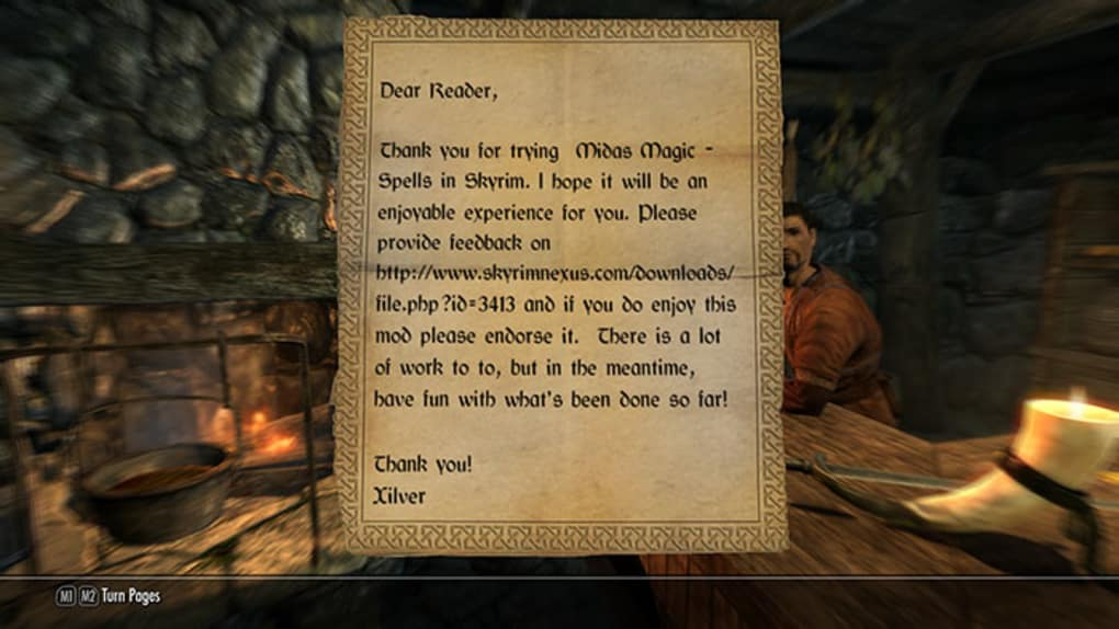 Midas Magic - Spells in Skyrim - Download