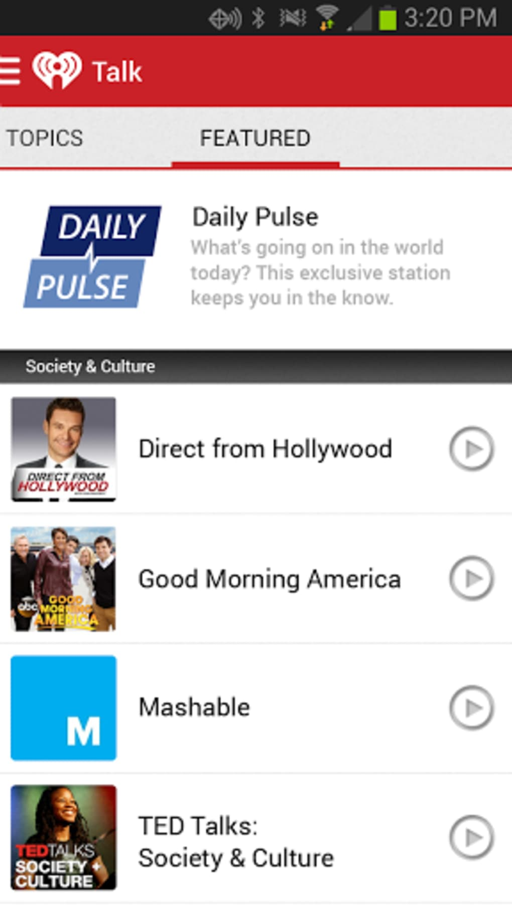 iHeartRadio: Top Radio & Music for Android - Download