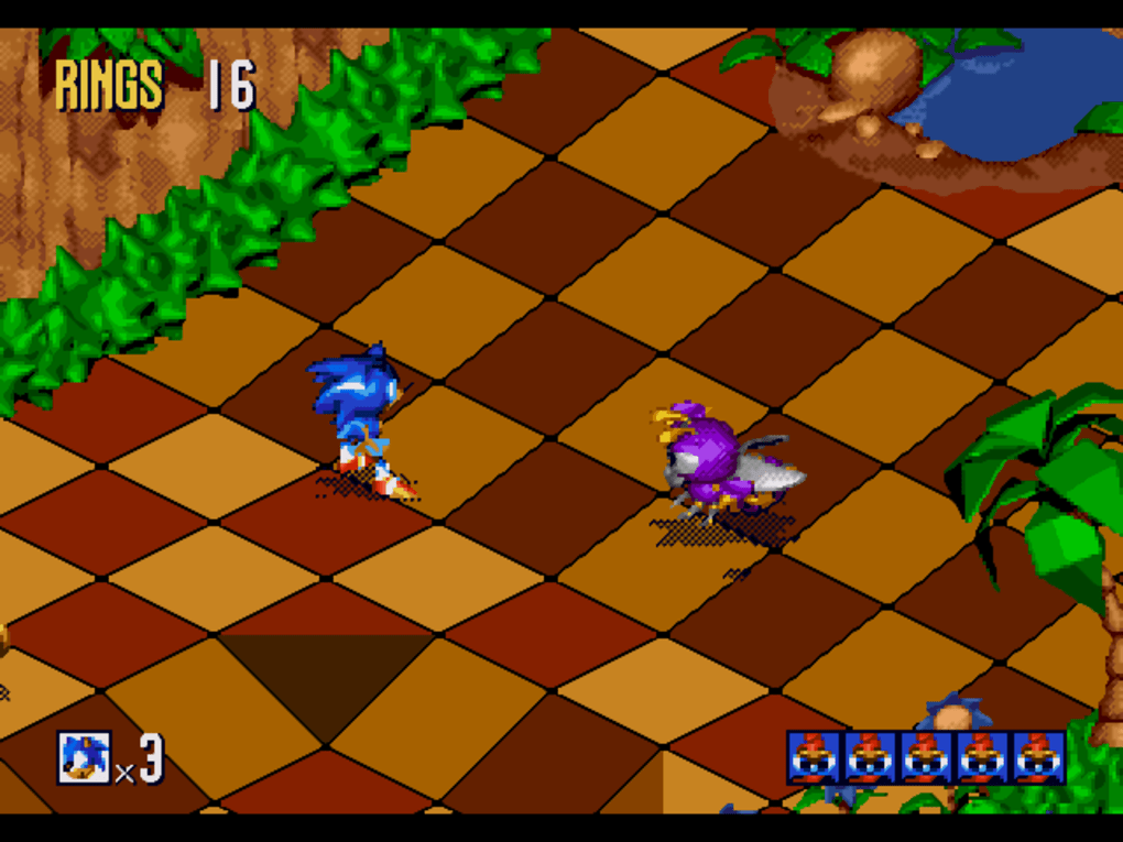 Sonic 3D Blast - Download