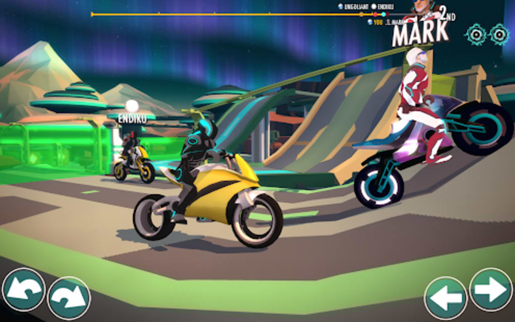 Gravity Rider Space Bike Racing Game Online for Android