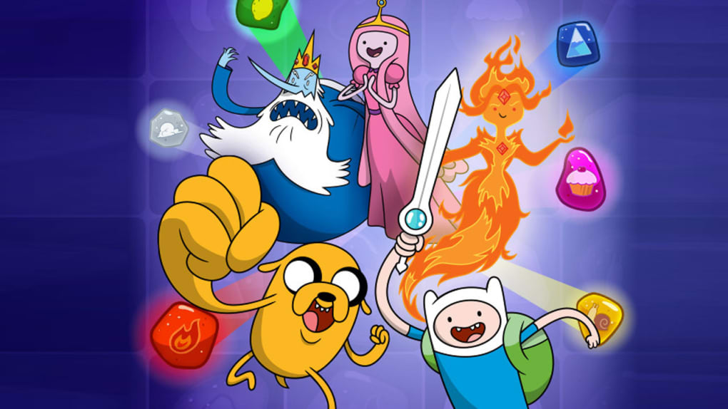 Adventure Time Puzzle Quest for Android - Download