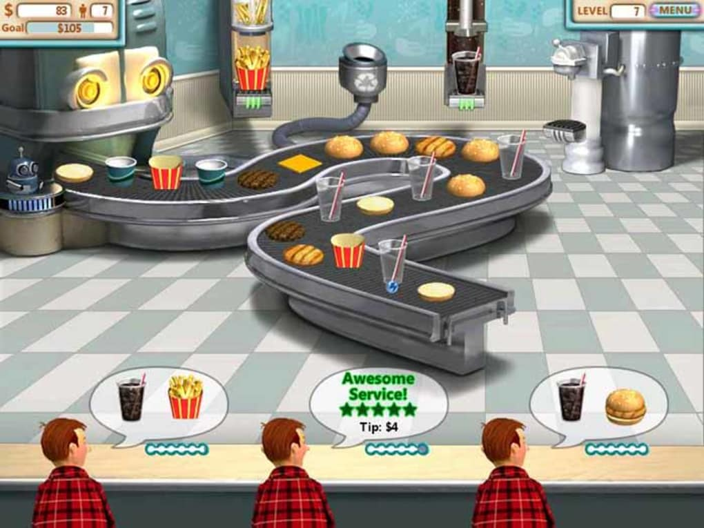 Burger shop 2 free unlimited download.
